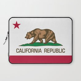 California flag, High Quality Authentic Laptop Sleeve