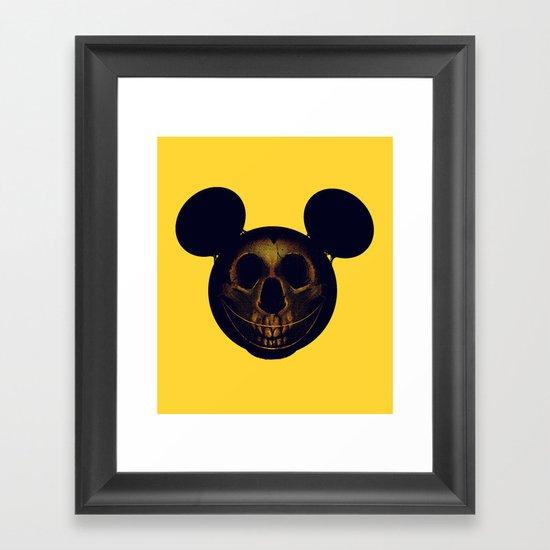 Mickey Framed Art Print