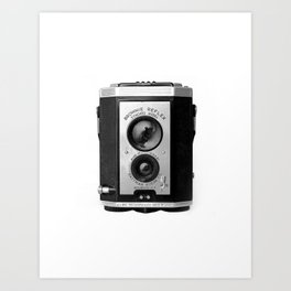 Vintage Brownie Reflex Camera Photograph Art Print