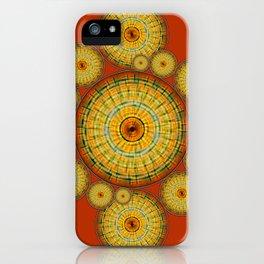 Copernicus, Descartes, and the Mayan Corn Calendar iPhone Case