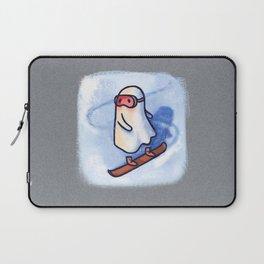 SNOWBOARDING GHOSTIE Laptop Sleeve