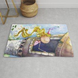 Princess Rapunzel Rug