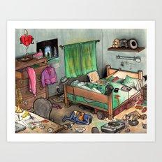 BHC - GONZO Art Print