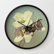 Cuckoo Flower 2 Wall Clock