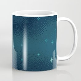 Pixel Marine Starlight Galaxy Coffee Mug