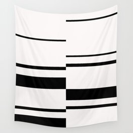 Geometric stripes print - 003 Wall Tapestry