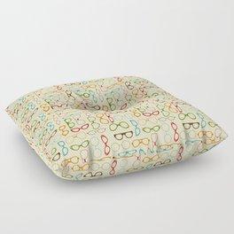 Retro glasses Floor Pillow