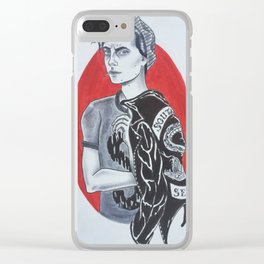 Jughead Jones // Riverdale Clear iPhone Case