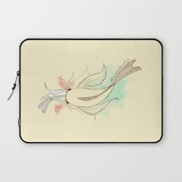The big fish eat the small ones Laptop Sleeve