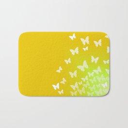 Butterfly Sunrise Bath Mat
