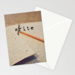 write Stationery Cards