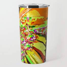 Butterfly Autumn So Pretty ORANGE AND GOLD Travel Mug