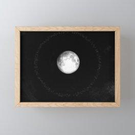 Moon Halo (Cloud series #17) Framed Mini Art Print