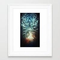 war Framed Art Prints featuring War Of The Worlds I. by Dr. Lukas Brezak