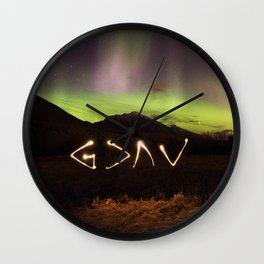 God Is Greater Than Our Highs And Lows Wall Clock