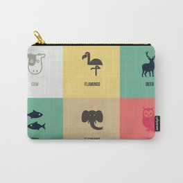 Animals colors Carry-All Pouch