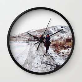 White world Wall Clock