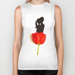 Flower of love Biker Tank