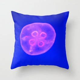 Single Cell Being Throw Pillow