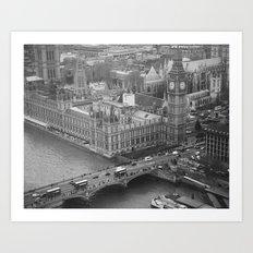 Westminster, London Art Print
