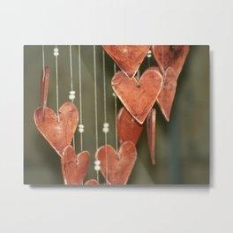 Hearts a Float ~ Romance Series Metal Print