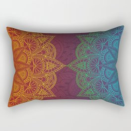 Mandala - twins Rectangular Pillow