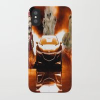 honda iPhone & iPod Cases featuring HONDA NSX,RACING CAR,NIGHTMARE by ira gora