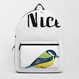 Nice Pair Bird watching Birding Gift Backpack