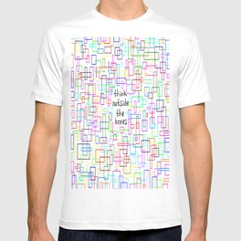 Think outside the boxes T-shirt