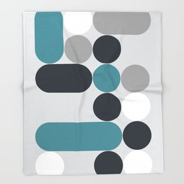 Domino 02 Throw Blanket