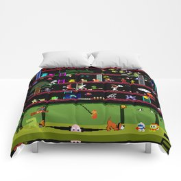 50 Classic Video Games Comforters