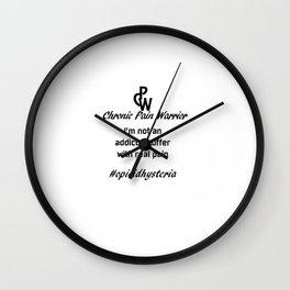 Chronic Pain Wall Clock