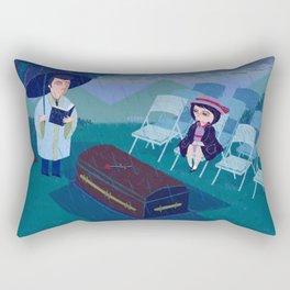 THE FUNERAL Rectangular Pillow