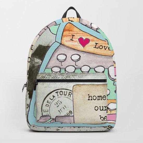 Typewriter #4 Backpack