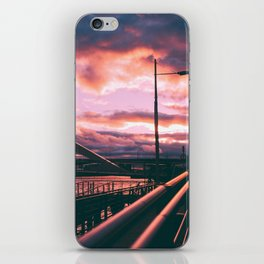 Clyde Side Nights. iPhone Skin