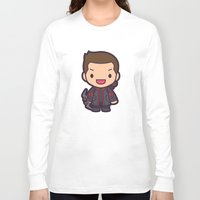 archer Long Sleeve T-shirts featuring Archer by Papyroo