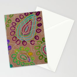 Drops Morphed 2 Stationery Cards