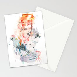 I can't speak your language Stationery Cards