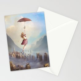 Fly Away Into Freedom Stationery Cards