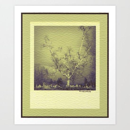 Birch: Early Spring Art Print