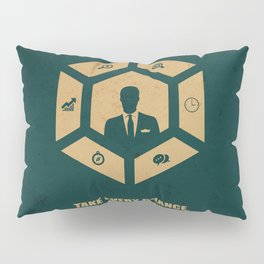 Lab No. 4 - Take Every Chance Drop Every Fear Corporate Start-up Quotes Pillow Sham