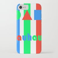 bauhaus iPhone & iPod Cases featuring Bauhaus by Retale