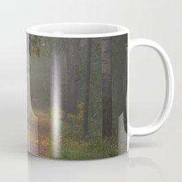 Misty autumn path Coffee Mug
