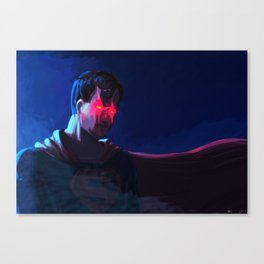 Superman ! Canvas Print