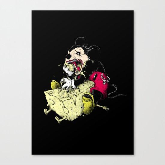 Mickey Gone Wild Canvas Print