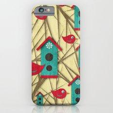 Shabby Sweet Tweet iPhone 6s Slim Case