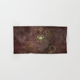 Steampunk Zodiac Cancer Hand & Bath Towel