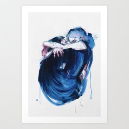 the noise of the sea Art Print