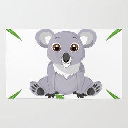 Cute Little Koala Bear Rug