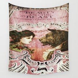 La Belle et la Bete Wall Tapestry